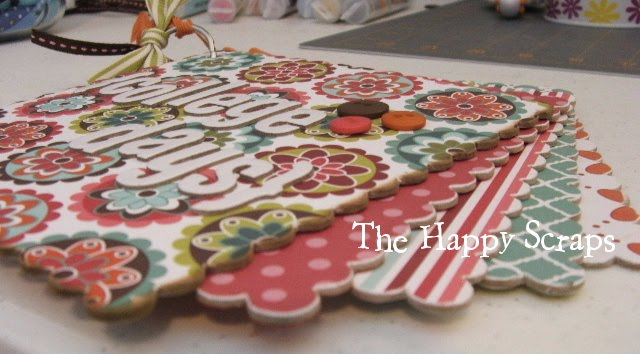 Graduation Gift Mini Album The Happy Scraps