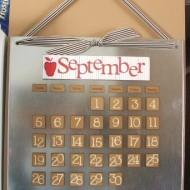 Magnet Board Calendar