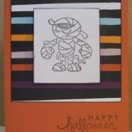 Halloween Mummy Card