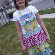 Spring Frilly Apron