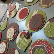 Mini Muffin Tin Advent Calendar