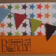 Cards-January Handmade Card Exchange & a Winner