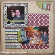 Scrapbook Thursday – 31 {Birthday Layout}