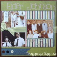 Scrapbook Thursday {Called To Serve}