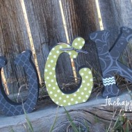 {LUCKY} Letters and Shamrocks