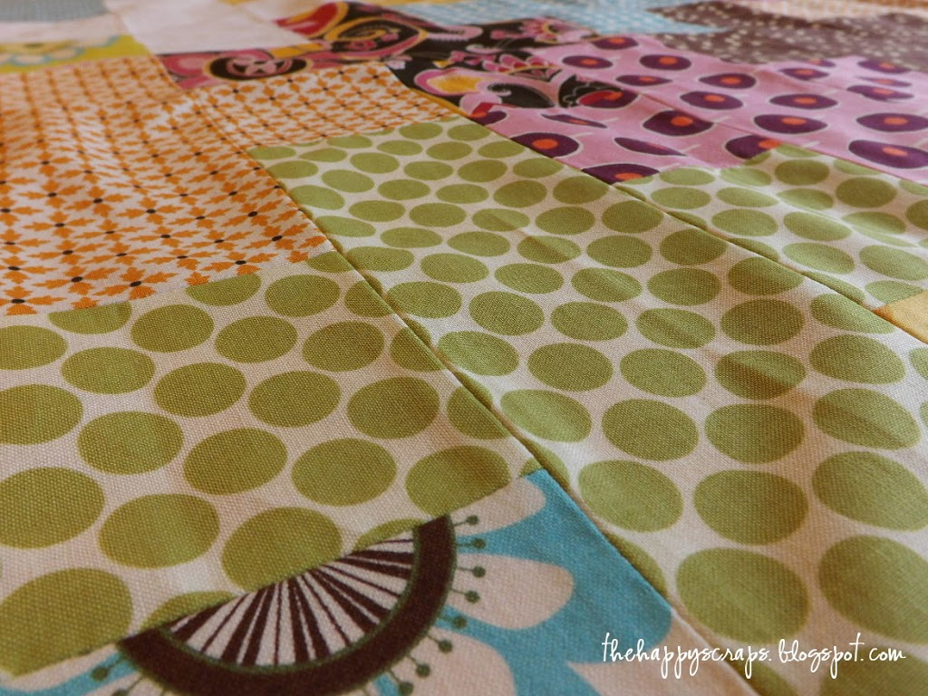 {Sneak Peek} Scrappy Quilt Top
