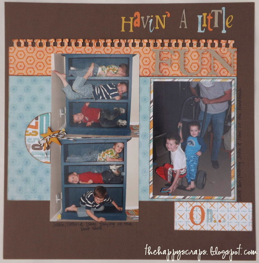 {Scrapbook Thursday} Moving Day Fun