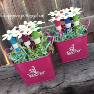 Dry Erase Marker Bouquet – Teacher Gift