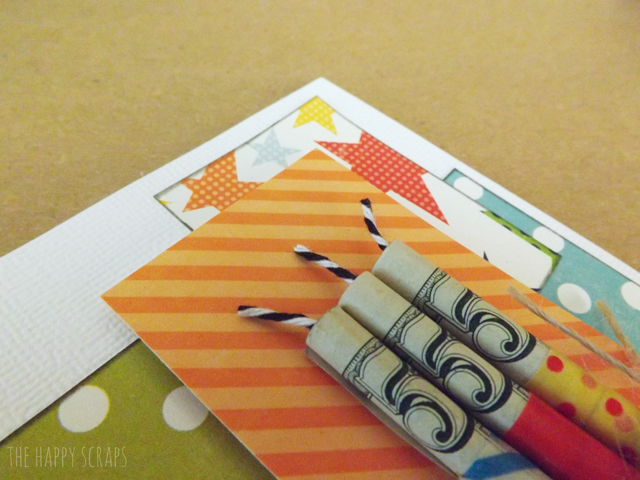 Then I Rolled The Money Up As Tight Could Making Sure All Of Them Same Direction So 5 Would Show And Used Washi Tape To