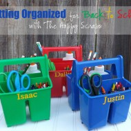 Getting Organized for Back to School