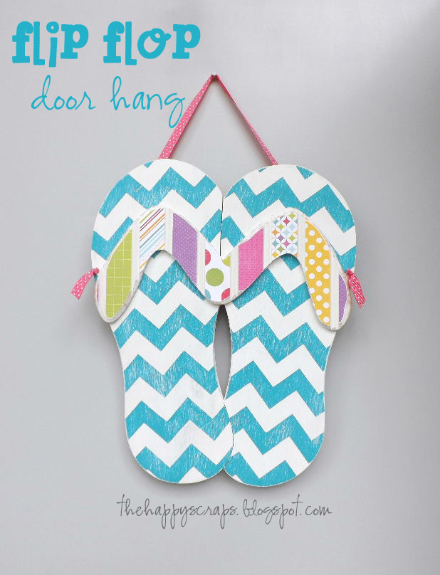 Summer Flip Flop Door Hang