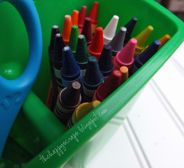 Getting Organized for Back to School - The Happy Scraps
