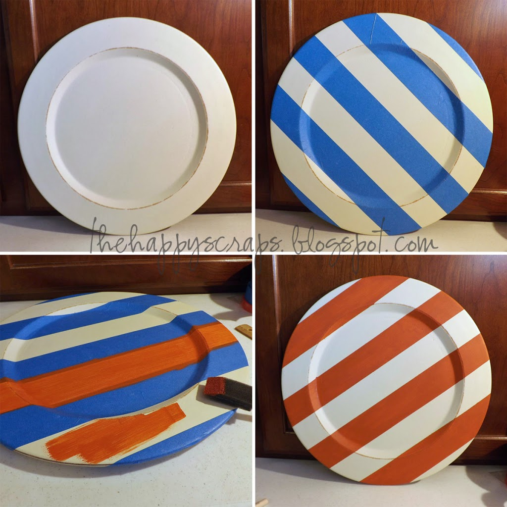 Eek Halloween Plate Decor The Happy Scraps