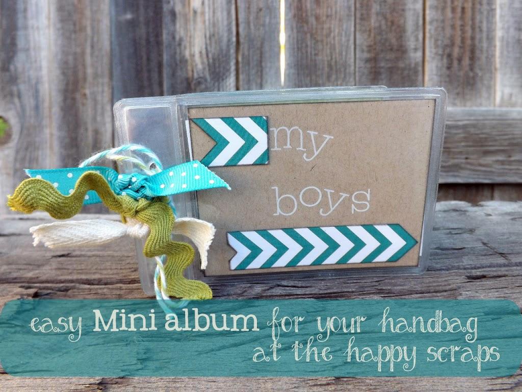 Mini Album or Brag Book for your Handbag