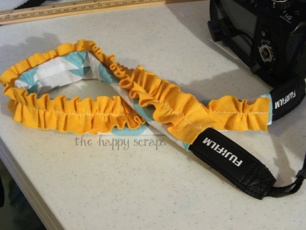 Fancy Camera Strap Cover