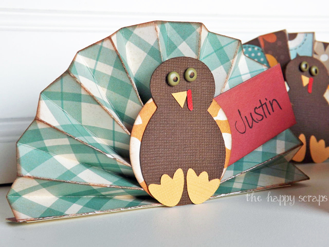 accordion-turkey-place-card
