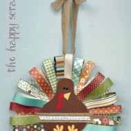 Paper Feathered Turkey