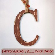 Personalized FALL Door Decor