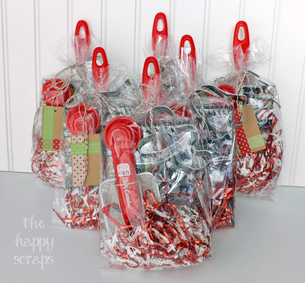 Teacher Christmas Gift - The Happy Scraps