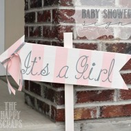It's a Girl-Baby Shower Sign