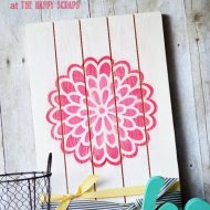 DIY Dahlia Flower Decor