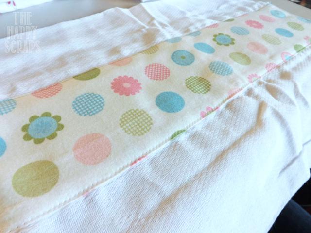Cloth Diaper To Burp Cloth Tutorial The Happy Scraps