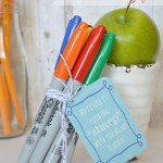 Back to School {Sharpie} Teacher Gift