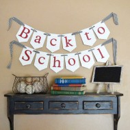Decorating for Back to School