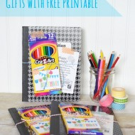 Student Birthday Gifts with Printable