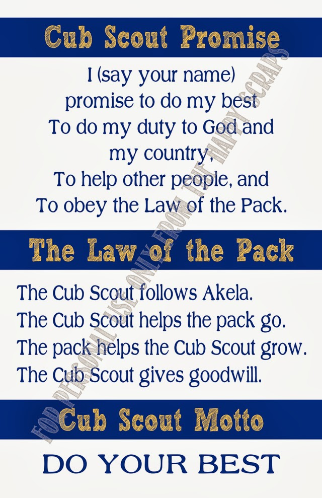 Remarkable image with regard to boy scout law printable