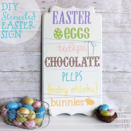 DIY Easter Sign