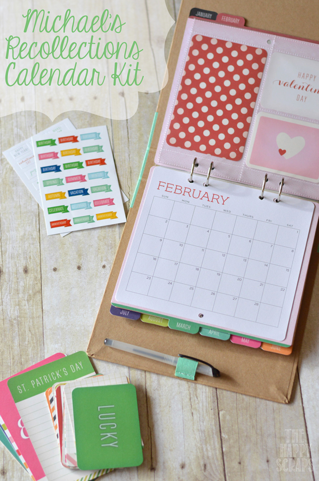 Michaels-Recollections-Calendar-Kit