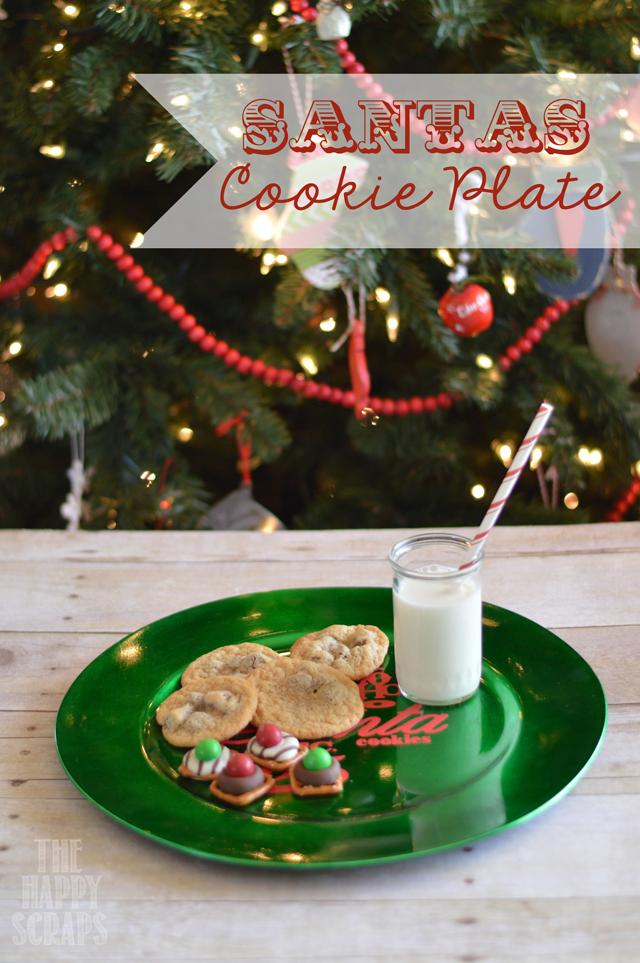 Santa S Cookie Plate The Happy Scraps
