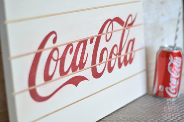 Simple Coca Cola Sign The Happy Scraps