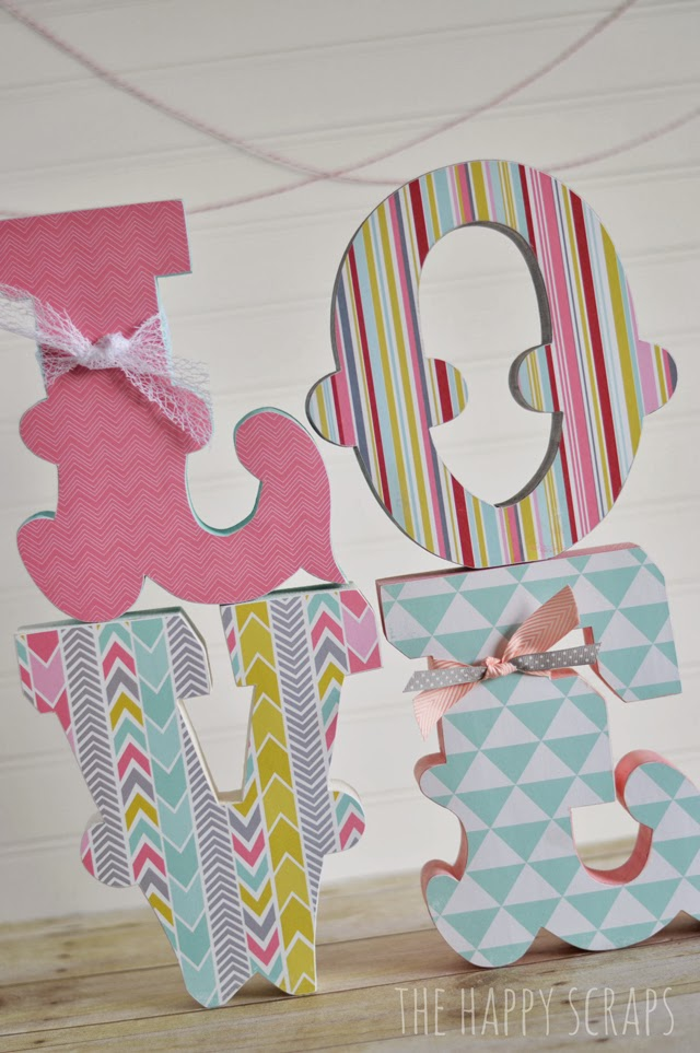 Stacking Love Letters The Happy Scraps
