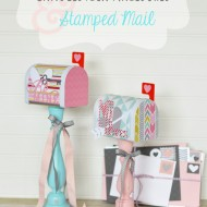 Valentine Candlestick Mailboxes & Stamped Mail