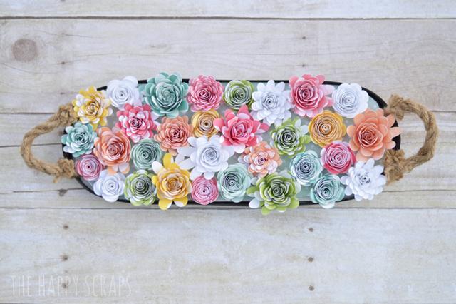 cricut-3d-flowers