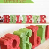 Believe Letter Set