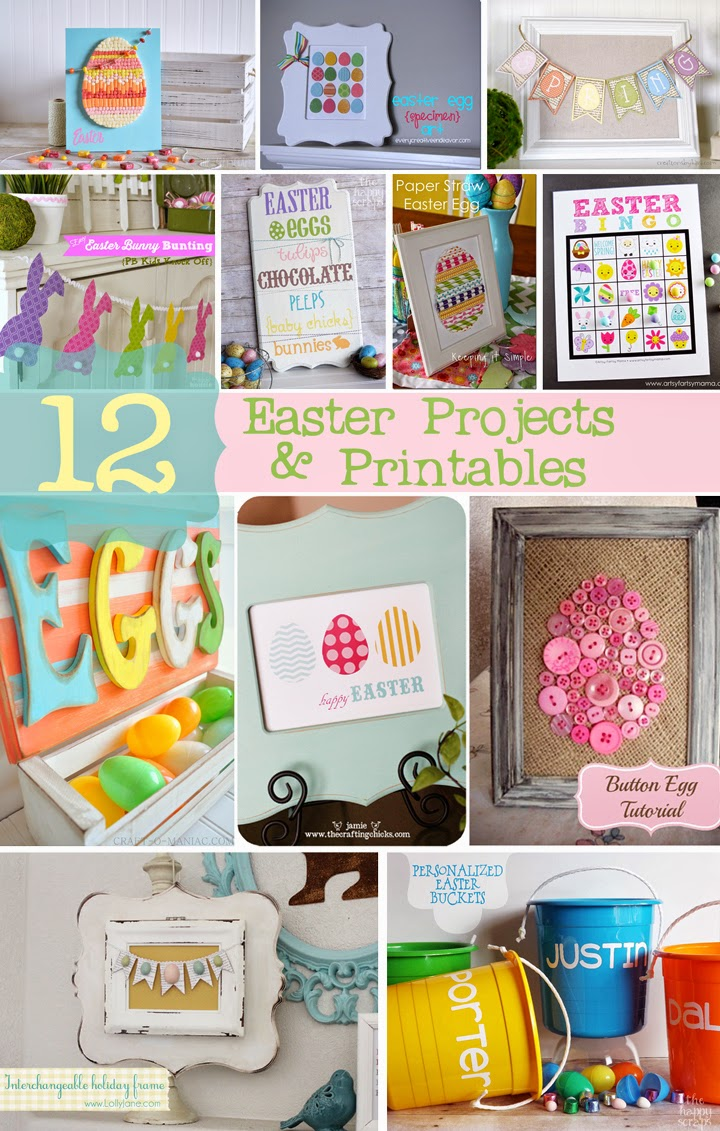 12 Easter Projects & Printables