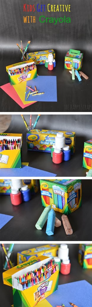 Kids Get Creative with Crayola #ColorfulCreations