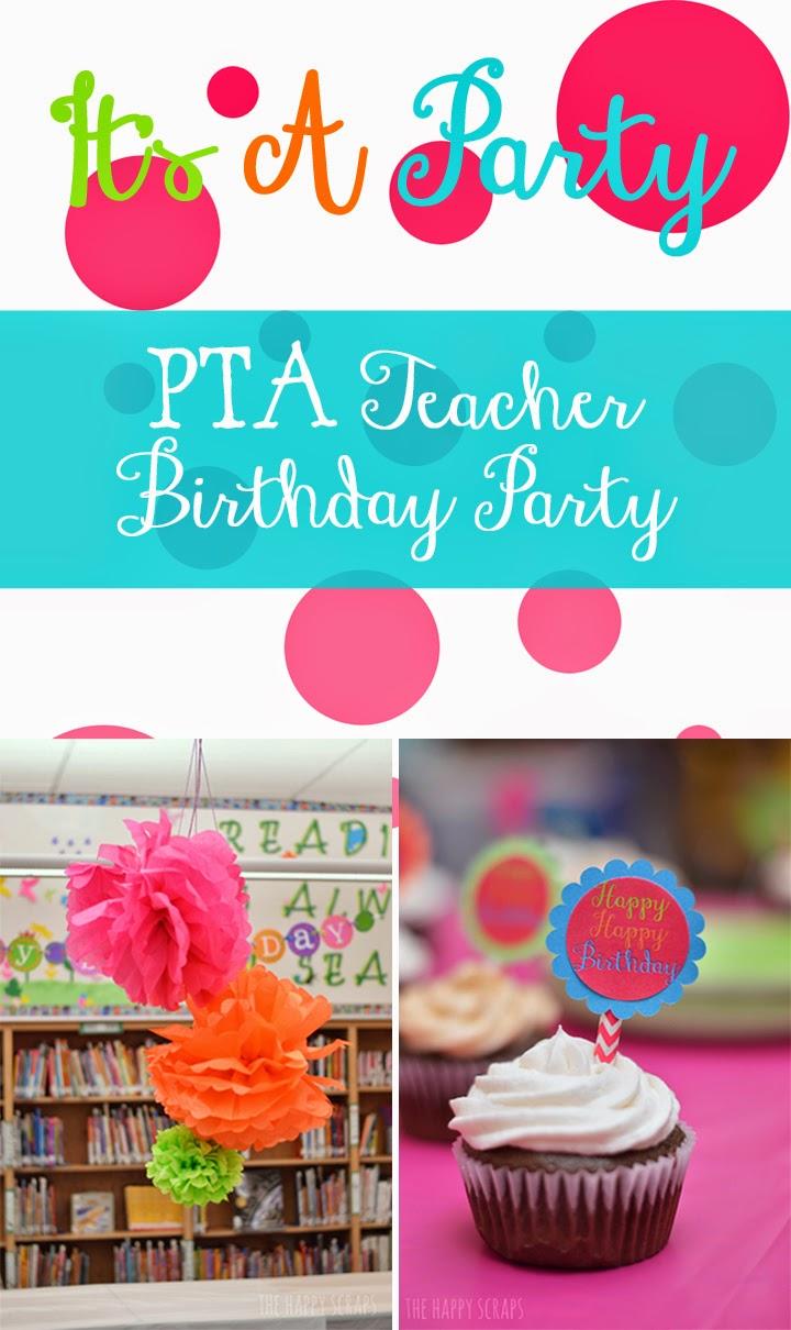 PTA Teacher Birthday Party