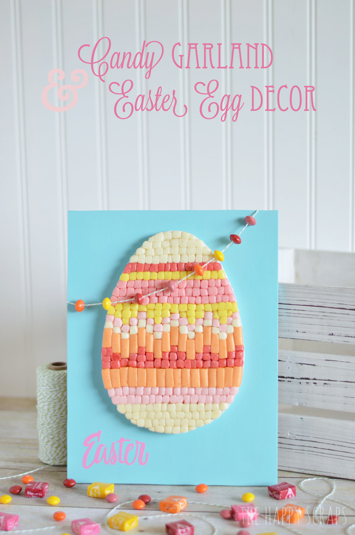 Candy Garland & Easter Egg Decor