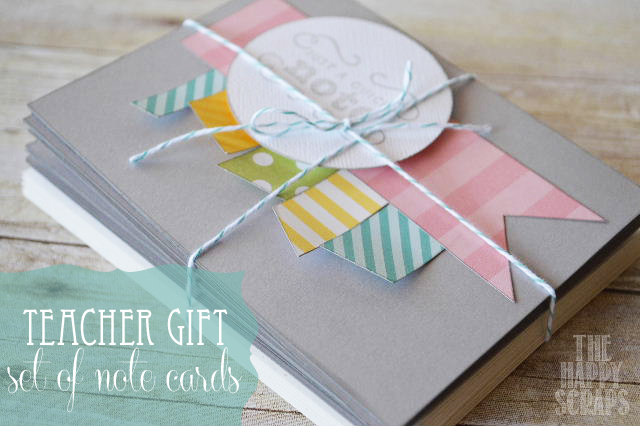 Back to School – Note Cards for Teacher