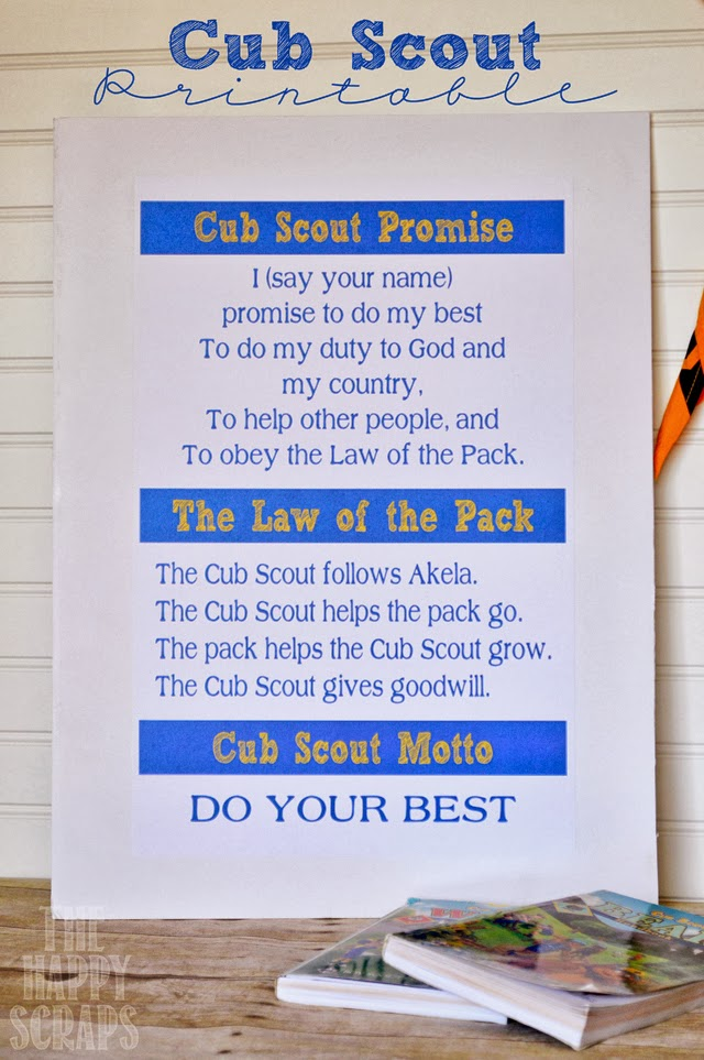Cub Scout Poster