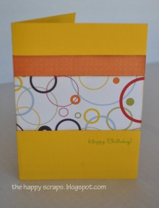 A little something Birthday Card
