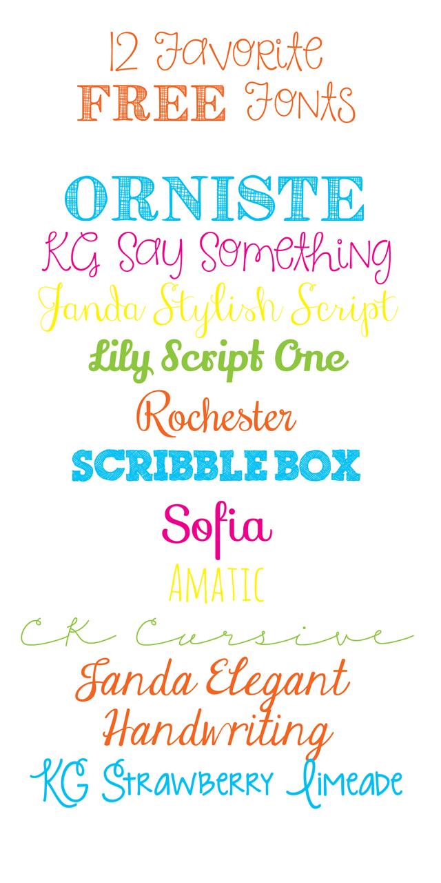 favorite-fonts