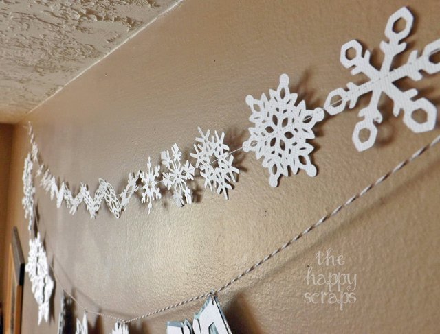 snowflake-garland