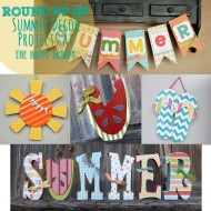 Round Up of Summer Decor Projects
