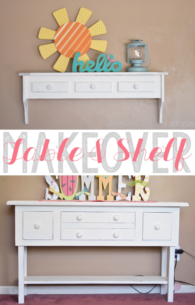 table-shelf-makeover