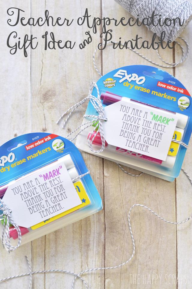 dry erase marker gift, school supply gift